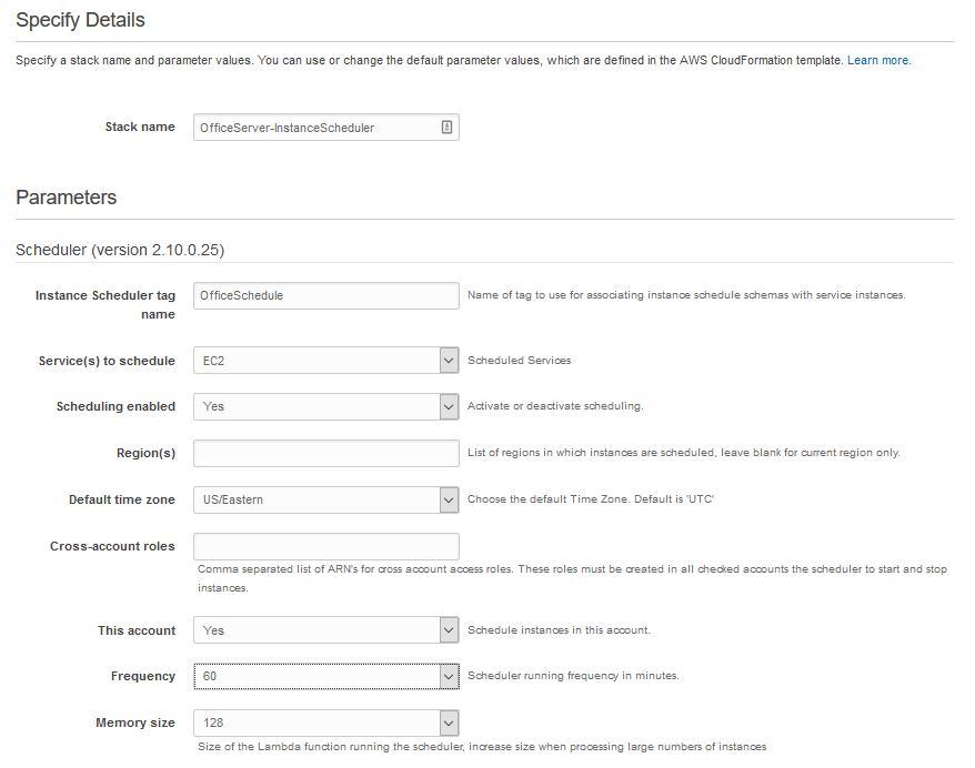 AWS Instance Scheduler - quick howto – IT Handyman